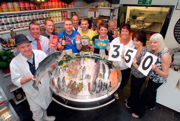 Vin Sullivan Foods 350 years